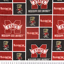 Mississippi State University Bulldogs 72x60