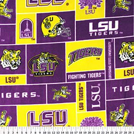 Louisiana State University Tigers 36x60