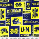 University of Michigan Wolverines 72x60