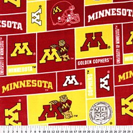 University of Minnesota Gophers 72x60