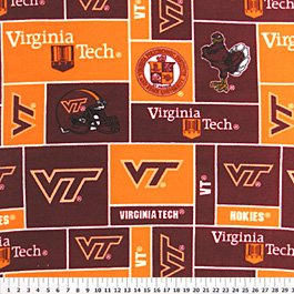Virginia Tech Hokies 72x60