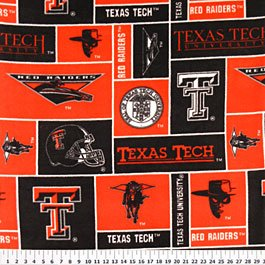 Texas Tech University Red Raiders 36x60