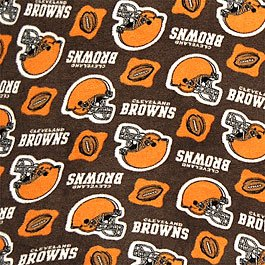 Cleveland Browns NFL 36x60