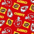 NFL Kansas City Chiefs Football 72x60
