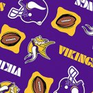 NFL Minnesota Vikings Purple Football 36x60