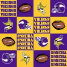 NFL Minnesota Vikings Football 72x60
