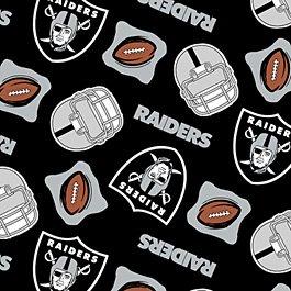 NFL Oakland Raiders Football 36x60