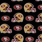 NFL San Francisco 49ers Football 36x60