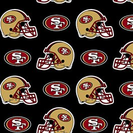 NFL San Francisco 49ers Football 72x60