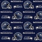 NFL Seattle Seahawks Football 72x60