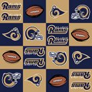 NFL St. Louis Rams Football 36x60