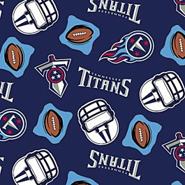 NFL Tennessee Titans Football 36x60