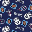 NFL Tennessee Titans Football 72x60