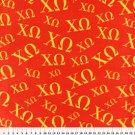 Chi Omega Fraternity 36x60