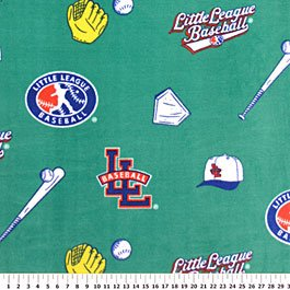 Little League Baseball Allover 72x60