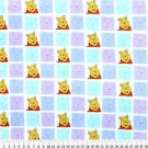 Pooh Blocks on Multi Color 36x60