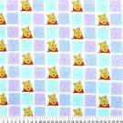 Pooh Blocks on Multi Color 72x60