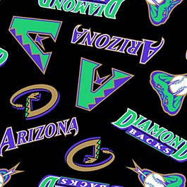 Arizona Diamondbacks Black 72x60