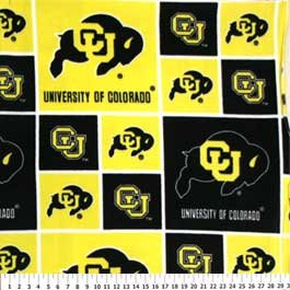 University of Colorado Buffalos 36x60