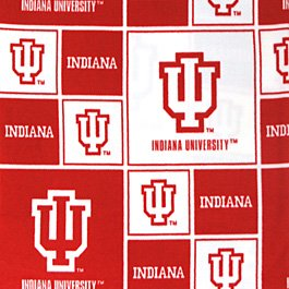 Indiana University Hoosiers 72x60