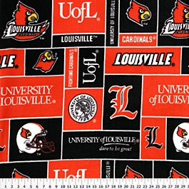 University of Louisville Cardinals 36x60