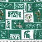 Michigan State University Spartans 72x60