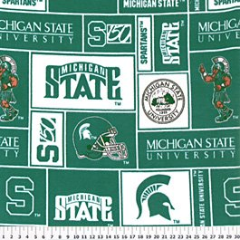 Michigan State University Spartans 72x60