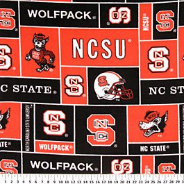 North Carolina State Wolfpack 36x60