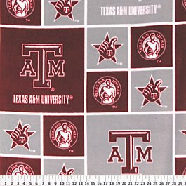 Texas A&M University Aggies 72x60