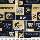 University of Washington Huskies 72x60