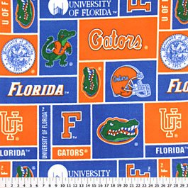 University of Florida Gators 72x60