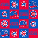 MLB Chicago Cubs 72x60