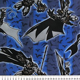 Batman Begins Fly Bats 72x60