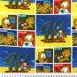4H Club Garfield Allover 36x60