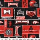 University of Arkansas Razorbacks 72x60