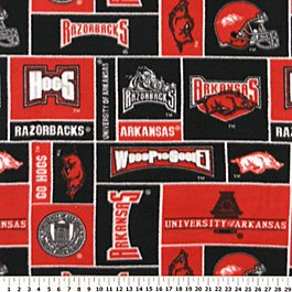 University of Arkansas Razorbacks 72x60