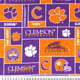 Clemson University Tigers 72x60