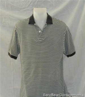 Banana Republic Striped Cotton Shirt Medium CLEARANCE