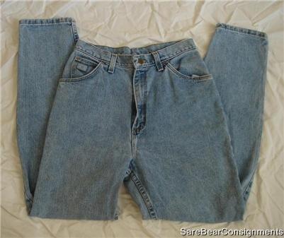 USA Mde Wrangler Blue Jeans Sz 10 Short 10P