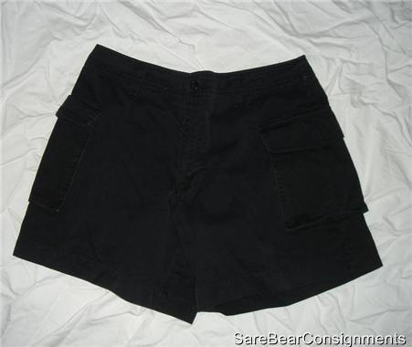 Polo Ralph Lauren Black Shorts Sz 8 CLEARANCE