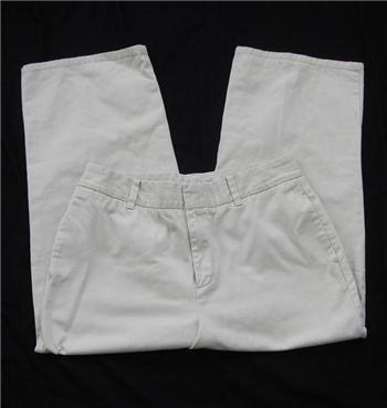 Gap Capri Cropped beige Pants Sz 10