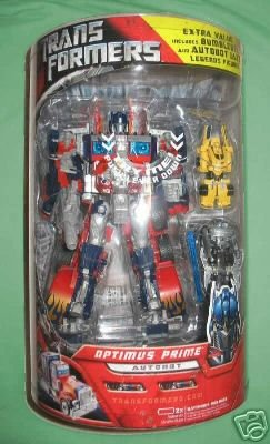 2007 Transformers movie Leader Optimus Prime MIB Costco