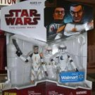 STAR WARS 2009 WALMART (COMMANDER CODY, & CLONE ECHO)!!