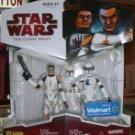 STAR WARS 2009 WALMART (COMMANDER CODY, & CLONE ECHO)!!