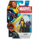 Marvel Universe Series 2 KITTY PRIDE 017 LOCKHEED moc