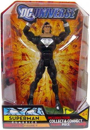 DC UNIVERSE CLASSICS Wave 6 Superman (Black Suit) MOC