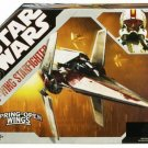 Star Wars Vehicle Republic V-Wing Starfighter Fighter 30th Anniversary TAC