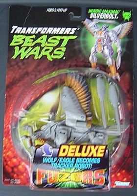 transformers Beast Wars Fuzors Silverbolt moc rare