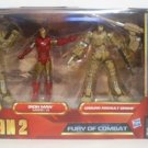 NICK FURY BRAND NEW Iron Man 2 Fury Of Combat Hasbro Ground Assault Drone