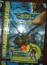 transformers beast machines blackarachnia moc rare